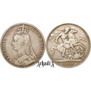 Great Britain 1 crown 1890