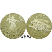 "Replika 20 $ ""Double Eagle"" 1933"