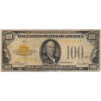 100 dollars 1928 gold certificate