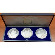 Germany 3 medallions set