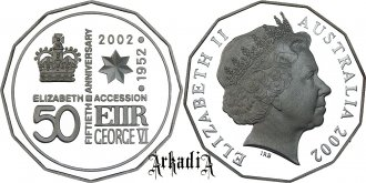 50th Anniversary of Elisabeth II Accession