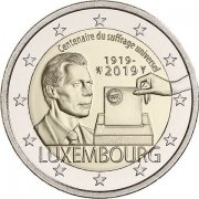 Luxembourg - the Suffrage