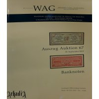 WAG - auction 67 catalog - banknotes