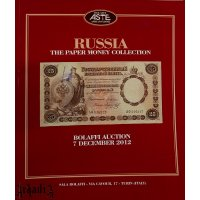 Bolaffi - auction catalog - Russian banknotes collection