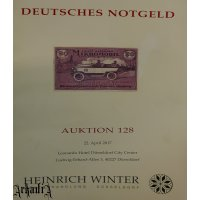 Heinrich Winter - auction 52 catalog - German Notgelds