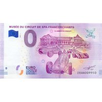 Collectors banknote 0 euro - The Automobile Museum