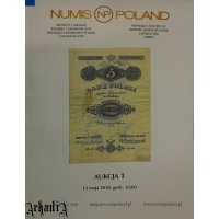 Numis Poland - auction 1 catalog