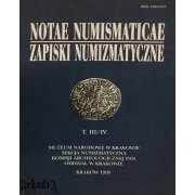 Numismatic Notes year 1999 part 3-4