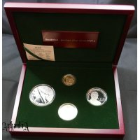 Smoleńsk - proof gold and silver set