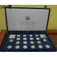 5 and 10 Mark Silver Proof Set