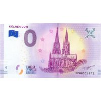 Collectors banknote 0 euro - The Colony Cathedral