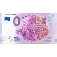 Collectors banknote 0 euro - Europe Park