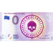 Collectors banknote 0 euro - The Catacombs of Paris