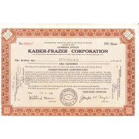 Kaiser-Frazer Corporation - 100 shares