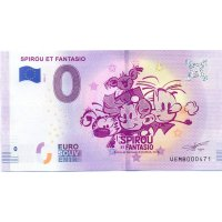 Collectors banknote 0 euro - Spirou and Fantasio