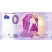 Collectors banknote 0 euro - Sea Life