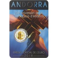 Andorra - 25 Years of the Constitution