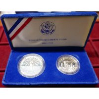 """Liberty Coins"" proof set 1986"