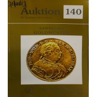 Matthias Senger - auction 140 catalog - gold coins