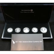 2011 Silver Currency Set