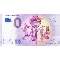 Collectors banknote 0 euro - Comic Station Antwerp
