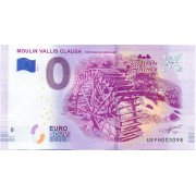 Collectors banknote 0 euro - Moulin Vallis-Clausa