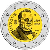 Italy - 200th anniversary of the Count of Cavour's birth