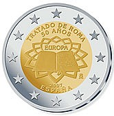 50th anniversary of the Treaty of Rome - Spain